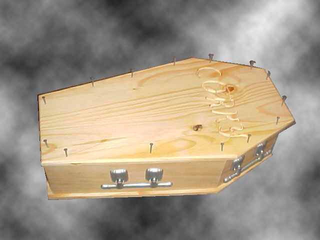 Pet Burial Coffin