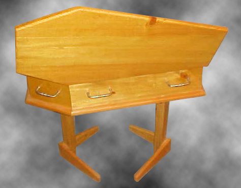 Coffin End Table