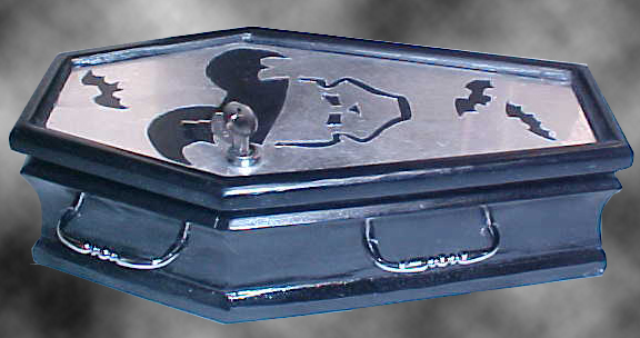 Coffin Purse #20 - The Bats Day Purse