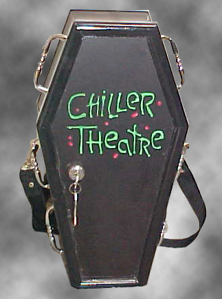 Coffin Purse #21 - The Chiller Theater Purse