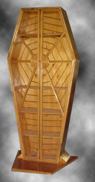 Spider Web Display Coffin