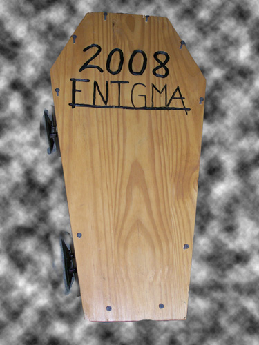 Enigma 2008 coffin