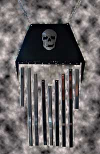 Coffin Wind Chime