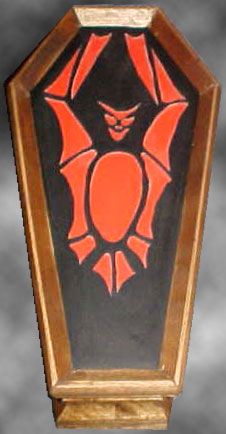 Bat Jewelry Coffin